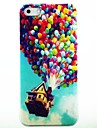 Balloon House Pattern Hard Case Cover for iPhone 4/4S