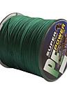 500M / 550 ярдов Леска с полиэтиленовым плетением / Dyneema Рыбацкая леска Зеленый 30LB / 40LB 0.26,0.28 mm ДляМорское рыболовство /