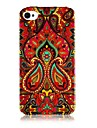 National style Colorful Line Pattern Silicone Soft Case for iPhone5/5S