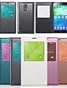 삼성 갤럭시 S5의 i9600에 대한의 뷰 창 플립 커버 (모듬 색상)