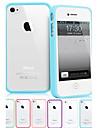 Transparent Anti-Riscos Hard Case para iPhone 4/4S (cores sortidas)