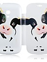 Dairy Cattle Leather Full Body Case for Samsung Galaxy S3 Mini I8190