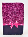 For Samsung Galaxy Case with Stand / Flip Case Full Body Case Leopard Print PU Leather Samsung Tab 2 7.0