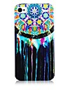 Oil and Aeolian Bells Pattern Silicone Soft Case for iPhone4/4S