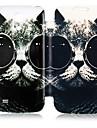 Pour Samsung Galaxy Coque Etuis coque Clapet Motif Coque Intégrale Coque Chat Cuir PU pour Samsung S4 Mini