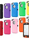 Colorful Heavy Duty hybride robuste mat Hard Case Couverture souple peau pour l'iPhone 5C