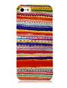 Национальный стиль модели красочные линии Силиконовые Мягкий чехол для iPhone4/4S