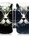 Monocle Cat Leather Full Body Case for Samsung Galaxy S3 Mini I8190