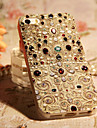 Retro Pattern Gem Covered Back Case for iPhone 5/5S
