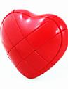 Nouveau design en forme de coeur magique IQ Cube Puzzle (Rouge)
