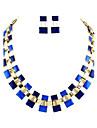 горячей продажи двойной слой небольшой блок Чарн ожерелье 2014 набор