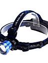 Освещение Налобные фонари LED 1200 Люмен 3 Режим Cree XM-L T6 18650Водонепроницаемый / Перезаряжаемый / Маленький размер / Очень легкие /