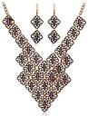 lureme®vintage сплав совместное подключение ожерелье комплект ювелирных изделий