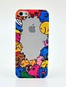 Cara dos desenhos animados Sorriso Hard Case para iPhone 5/5S