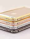 Elegante, decorado com frame do diamante para o iPhone 4/4S (cores sortidas)