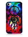 Dream Catcher Pattern Silicone Soft Case for iPhone4/4S