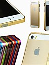 MAYLILANDTM Solid Metal Bumper Case for iPhone 5/5S (Assorted Colors)