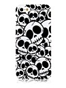 Cas silicone souple Cross Bones Motif pour iPhone4/4S