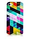 Для Кейс для iPhone 5 Чехлы панели С узором Задняя крышка Кейс для Геометрический рисунок Мягкий Силикон для iPhone SE/5s iPhone 5