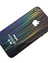 Chuva de Meteoros Padrão Frente & Verso Etiqueta corpo para iPhone 4/4S
