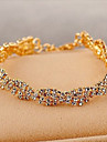 Lureme®Delicate Claw Chain Crystals Bracelet