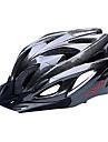 FJQXZ Femme Homme Unisexe Vélo Casque 18 Aération Cyclisme Cyclisme Cyclisme sur Route M : 55-59cm L : 59-63cm Polycarbonate EPS Noir