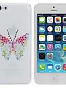 Elonbo papillon Style Design Couverture dure de cas pour l'iPhone 5C