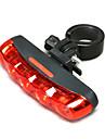 Велосипедные фары / Задняя подсветка на велосипед LED Велоспорт Водонепроницаемый AAA Люмен Батарея Велосипедный спорт-MOON