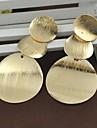 Z&X®  Wafer Irregular Shaped Drop Earrings