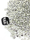 300PCS 3D Silver Five-pointed Star Alloy Nail Art Golden&Silver Decorations