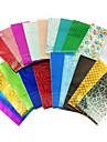10PCS 혼합 색깔 레이저 포일 못 장식 별이 빛나는 네일 스티커 (색상 랜덤)