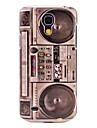 Ретро Радио Pattern Жесткий задняя обложка чехол для Samsung Galaxy S4 Mini I9190