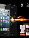 Ultimate Shock Absorption Screen Protector for iPhone 5/5S(3PCS)