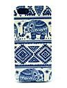 Elephant padrão tribal Tapete caso capa dura para o iPhone 5/5S