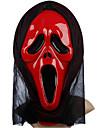 Красный Призрак Маска с головных уборов Scream Розыгрыш Scary Гаджеты Косплей для Хеллоуин костюм партии