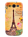 Famous Eiffel Tower with Bird Pattern Case Cover for Galaxy 3 I9300