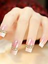 500шт смешивается 1.5mm/2mm/3mm полушарие ногтей золотые и серебряные украшения