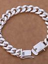 Classiclook модные драгоценности 8inch 925 серебряный браслет