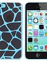 Elonbo Leopard Print Style Design Couverture dure de cas pour l'iPhone 5C