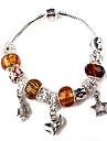 brun perles bracelet de charme pour les femmes de bracelets faits main de perles de style européen