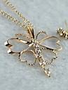Мисс rose®zircon бабочки серьги& ожерелье комплект ювелирных изделий