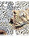 Pattern Leopard PU Leather Case Full Body para Samsung Galaxy i9600 S5