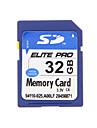 Elite PRO высокое качество 32gb SDHC карты памяти SD