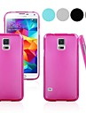 Pure Color Pudding TPU Full Body Case for Samsung Galaxy S5 I9600