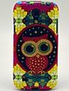 Cute Owl Pattern Back Cover TPU Soft Case for Samsung Galaxy S4 Mini I9190