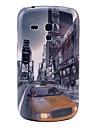 Car sur le modèle Street Building cas dur de couverture arrière pour Samsung Galaxy S3 Mini I8190