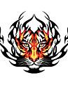 Огонь Тигр шаблон Декоративные автомобиля стикер