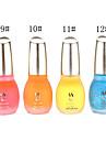 1PCS Laushine Световой Серебристые Люминесцентная ногтей Glow В Dark Eco-Friendly (№ 9-12, разных цветов)
