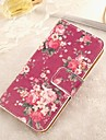 Flower Pattern Full Body Case with Card Slot   for Samsung S3 I9300(Assorted Colors)