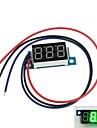 """Мини 0,36 """"3 Цифровой светодиодный дисплей DC 0V-200V Зеленый Вольт Напряжение Meter вольтметр"""